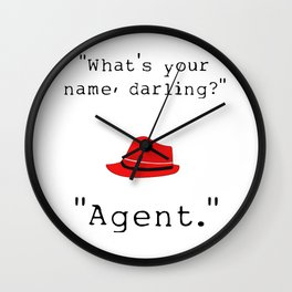 What's your name, darling? Wall Clock