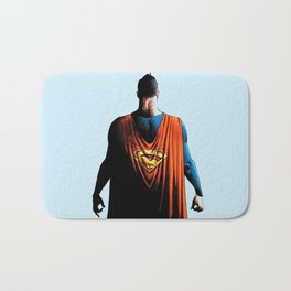 super man Bath Mat