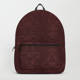 Carnivorous Damask (Crimson) Backpack