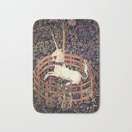 The Unicorn in Captivity Bath Mat