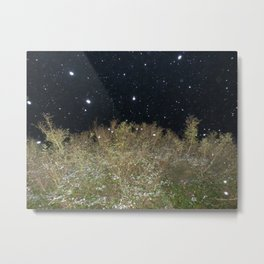 Snow Universe Metal Print