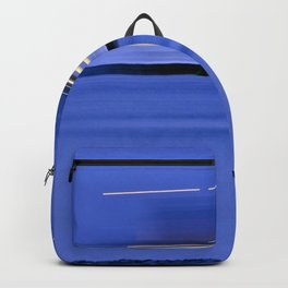 "INTO THE DEEP BLUE - ""Vacancy"" zine Backpack"