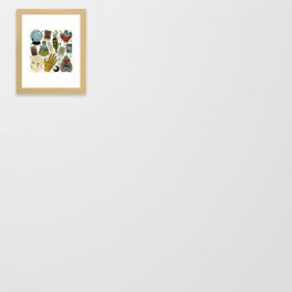 Fortune Teller Starter Pack Color Framed Art Print