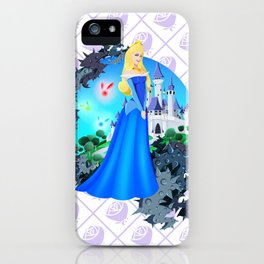 Team Blue Dress iPhone Case