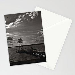 Dreamful Sunset over the Wandlitz Lake Stationery Cards
