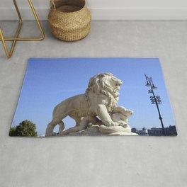 budapest city lion Rug