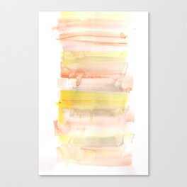 171122 Self Expression 5| Abstract Watercolors Canvas Print