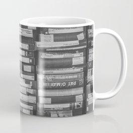 VHS Retro (Black and White) Coffee Mug