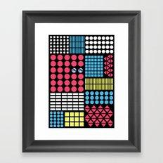 Geometric Fantasy Framed Art Print