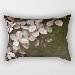 hydrangea too Rectangular Pillow
