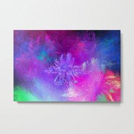 Color Explosion Metal Print