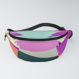 Sliced Abstract Ananas Fanny Pack