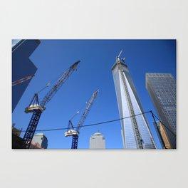 New York City Freedom Tower 2013 Canvas Print