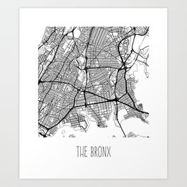 The Bronx Art Print