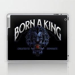 Born A King Laptop & iPad Skin