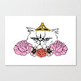 Queen Cat Canvas Print