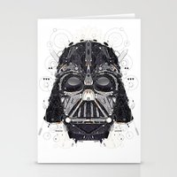 darth Stationery Cards featuring darth vader by yoaz