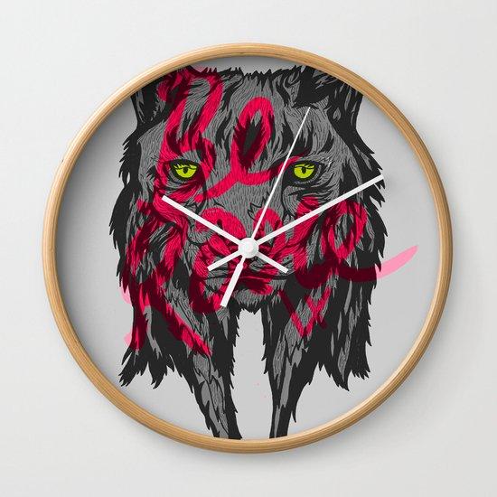 BE RARE TRASH VERSION Wall Clock