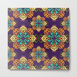Ethnic Curlsley patterns-5 Metal Print