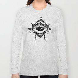 All Seeing Eye Bloom Long Sleeve T-shirt