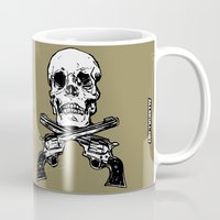 kindle Mugs featuring 113 by ALLSKULL.NET