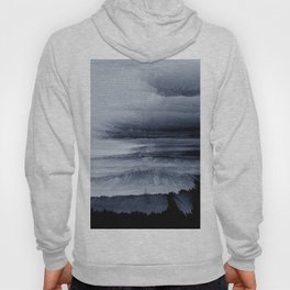 Abstract black painting 2 Hoody