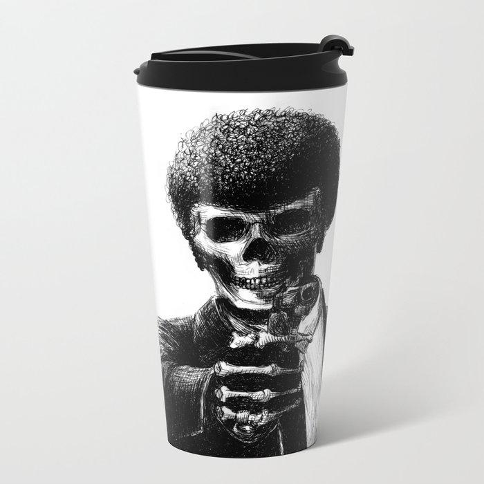 Pulp Fiction Metal Travel Mug