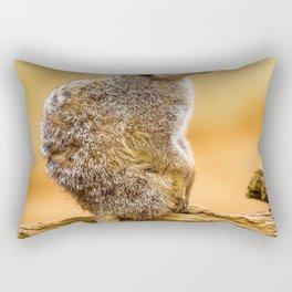 Meerkat (Color) Rectangular Pillow