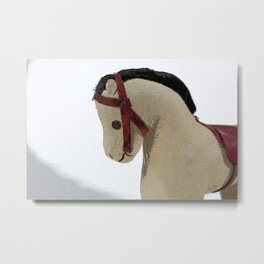 The Old Toy Horse Metal Print