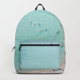 Busy Beach Backpack