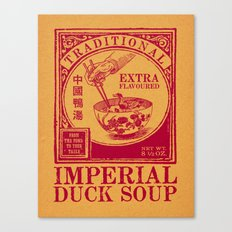 Imperial Duck Soup Canvas Print