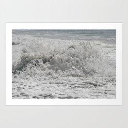 Sea Salted Art Print
