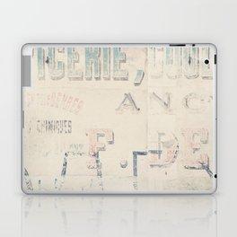 the writing on the wall ... Laptop & iPad Skin