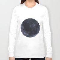 titan Long Sleeve T-shirts featuring Titan #2 by Tobias Bowman