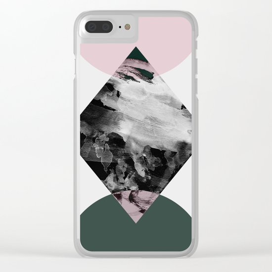 Minimalism 21 Clear iPhone Case