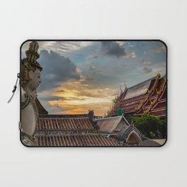 Wat Arun Sunset Laptop Sleeve