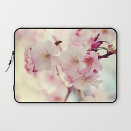 cotton candy flowers Laptop Sleeve