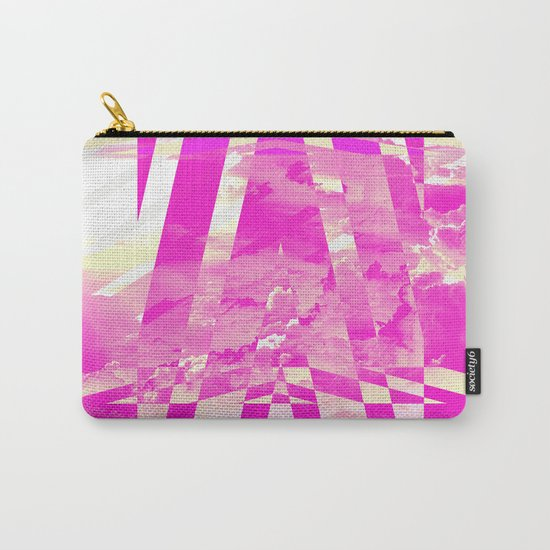 CLOUDS MINGLE WITH LINES 4 Carry-All Pouch