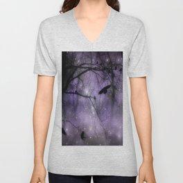 Misted Purple  Unisex V-Neck