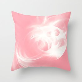 abstract fractals 1x1 reacpw Throw Pillow
