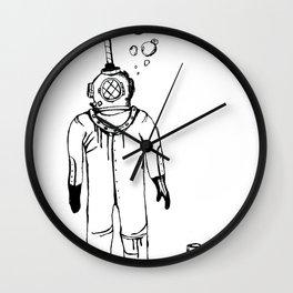 DEAP SEA Wall Clock