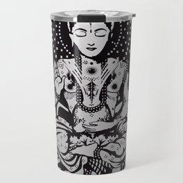 Buddha in lotus position Travel Mug
