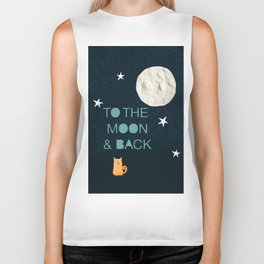 To the Moon & Back Biker Tank