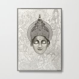 Everlasting Stories | 1/3 - Lord_Krishna Metal Print