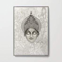 Everlasting Stories | 1/3 - Lord_Krishna Metal Print
