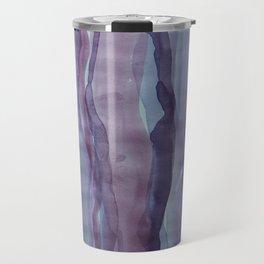 Violet Stripes Travel Mug