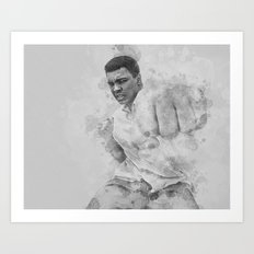 Float Like A Butterfly Art Print
