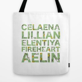 The many names of Aelin Galathynius Tote Bag