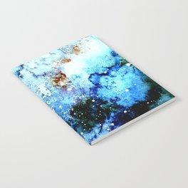 Cool Blue Galaxy Notebook