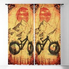 Vintage Bike Blackout Curtain